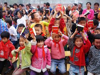 Investing in the education of China's children.